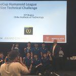 RoboCup Humanoid leagueのKidSize Technical ChallengeでCIT Brainsが7連覇
