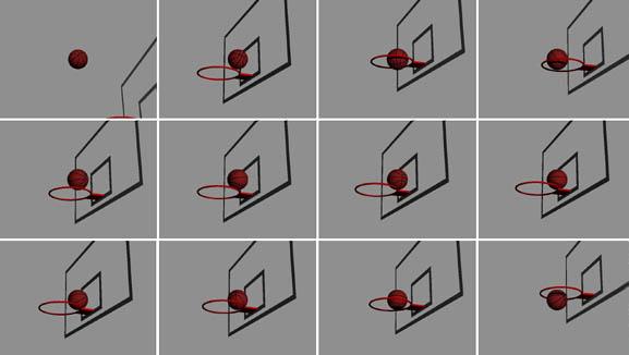 バスケットボールショットの解析